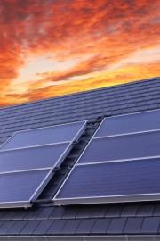 Abb.: Thermische Solaranlage